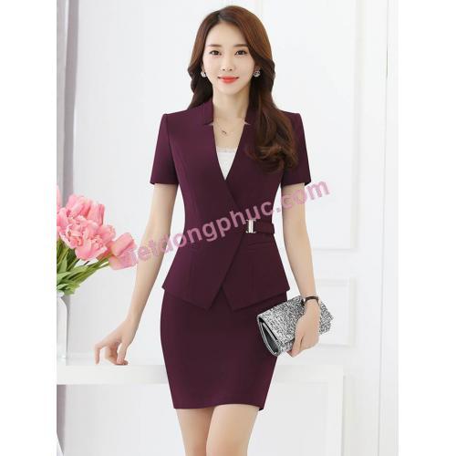 Nhận may áo vest nữ công sở đẹp, hợp thời trang, nhiều mẫu mới