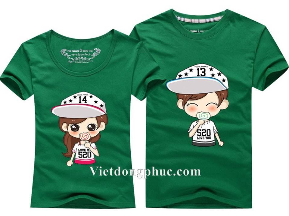 Đồng phục áo phông học sinh 01
