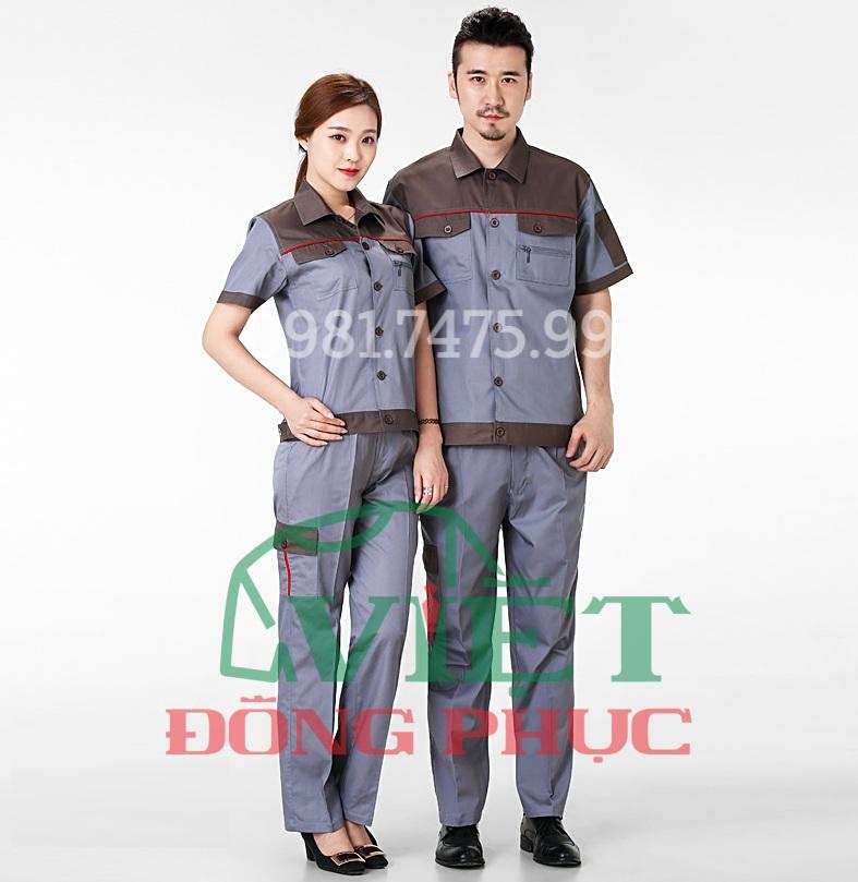Địa chỉ may quần áo bảo hộ lao động chất lượng bền đẹp, giá rẻ như ý