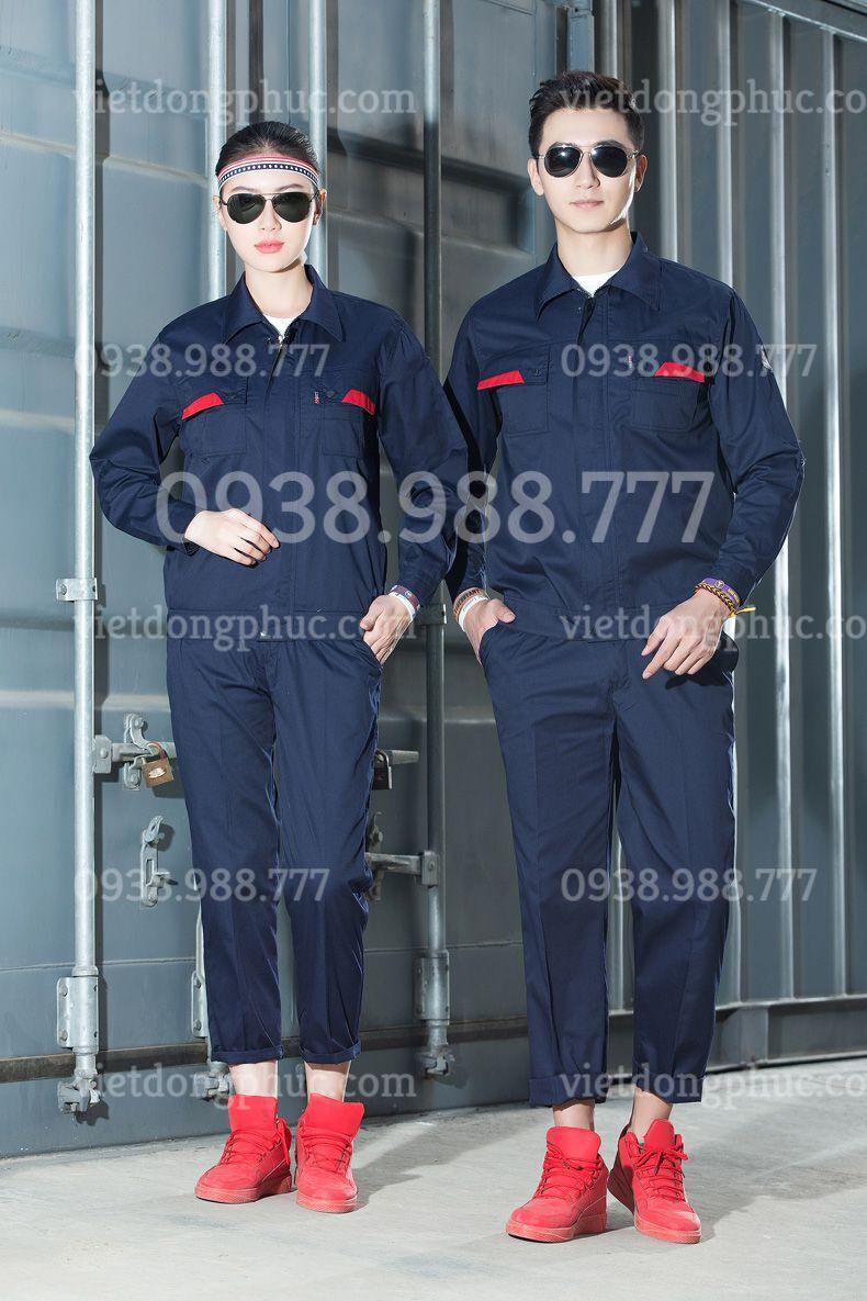Mẫu đồng phục bảo hộ lao động siêu bền, thiết kế đẹp, giá cạnh tranh