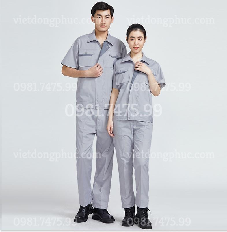 Bảo hộ lao động ngắn tay 16