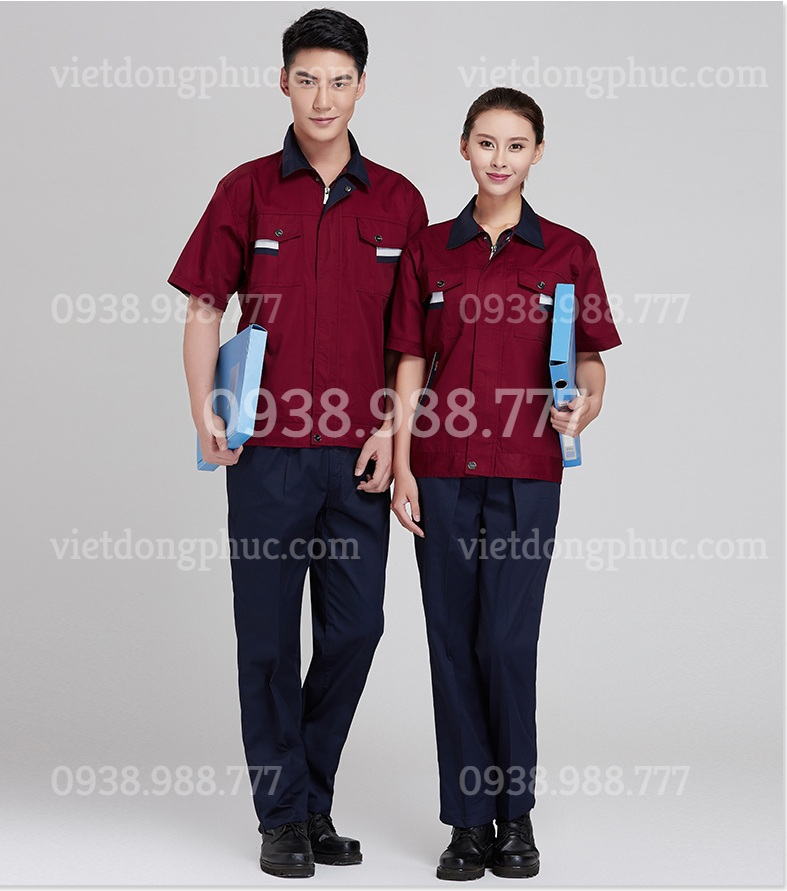 Bảo hộ lao động ngắn tay 19