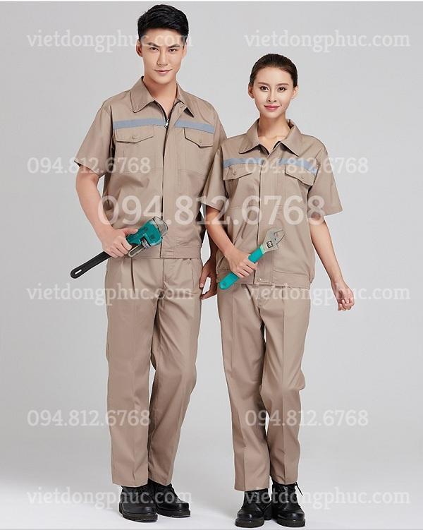 Bảo hộ lao động ngắn tay 02