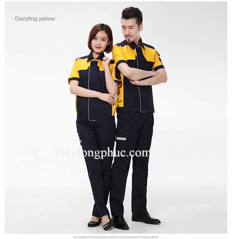 Mẫu quần áo bảo hộ cho Kỹ sư  giá rẻ, chất lượng tốt hiện nay