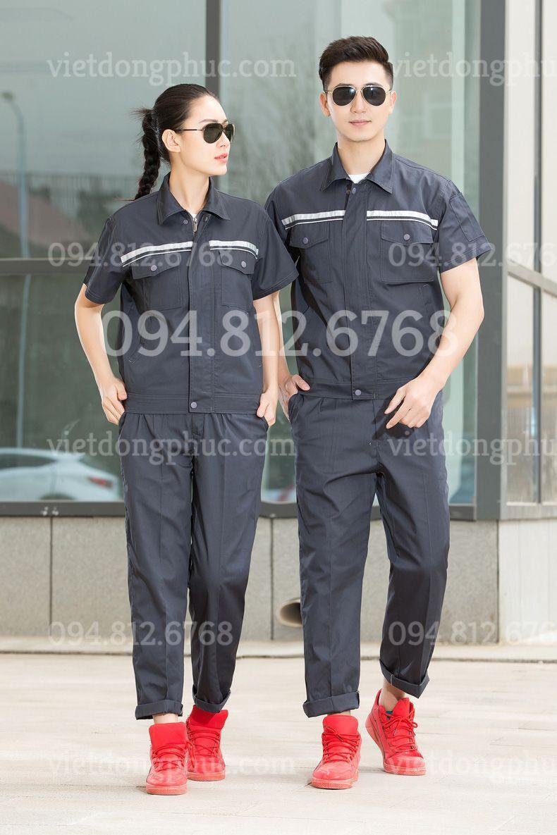 Bảo hộ lao động ngắn tay 31