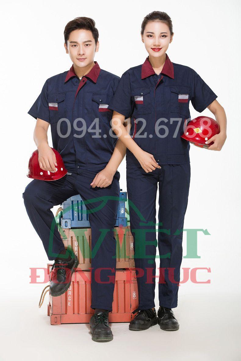 Mẫu đồng phục bảo hộ lao động an toàn, tiện dụng, hiện đại