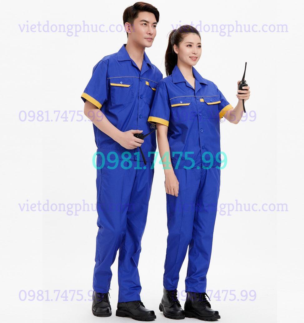 Bảo hộ lao động ngắn tay 53