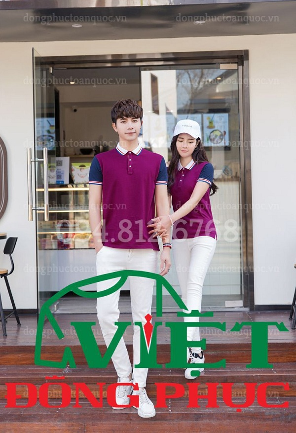 Đồng phục áo phông Công ty 24