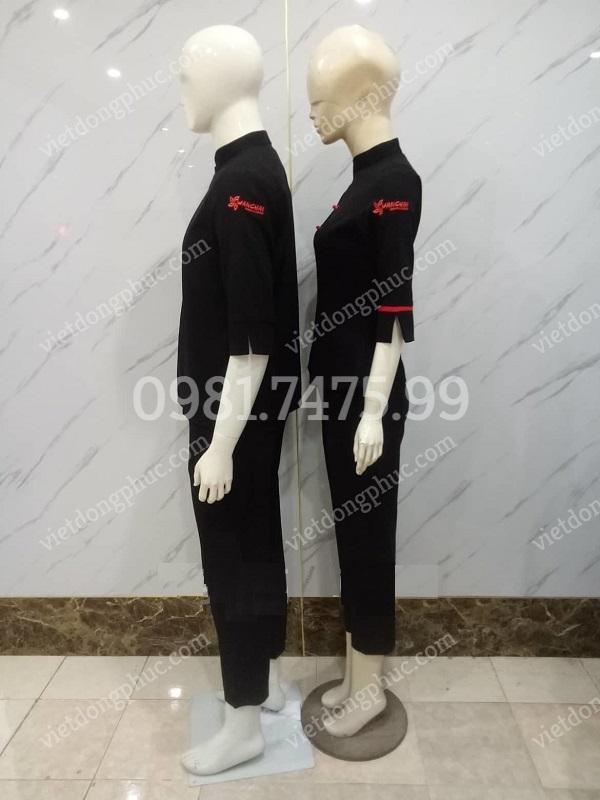 Đồng phục bàn, bar 15