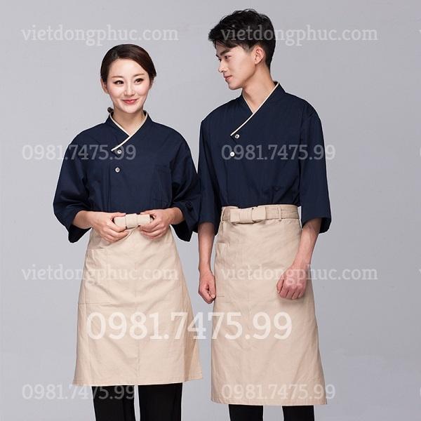 Địa chỉ may đồng phục nhà bếp giá tốt nhất, chất lượng đảm bảo