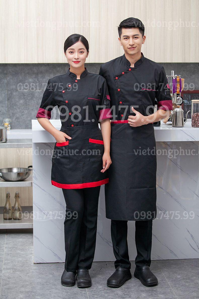 Mẫu quần áo đầu bếp chuyên nghiệp, thể hiện đẳng cấp Khách sạn bạn