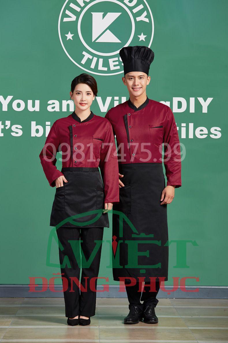 Đồng phục nhà bếp 09