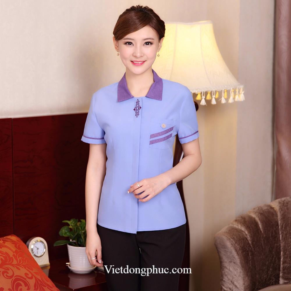 Mẫu đồng phục nhân viên tạp vụ đẹp giúp nâng tầm đẳng cấp Khách sạn