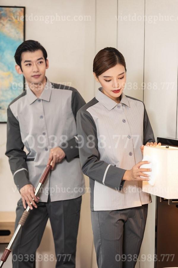 Đồng phục buồng phòng/tạp vụ 40