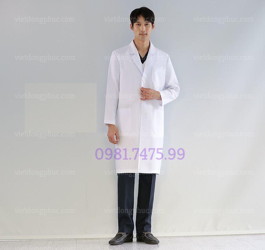 Mẫu áo blouse Bác sĩ đẹp, chuẩn form Bộ y tế