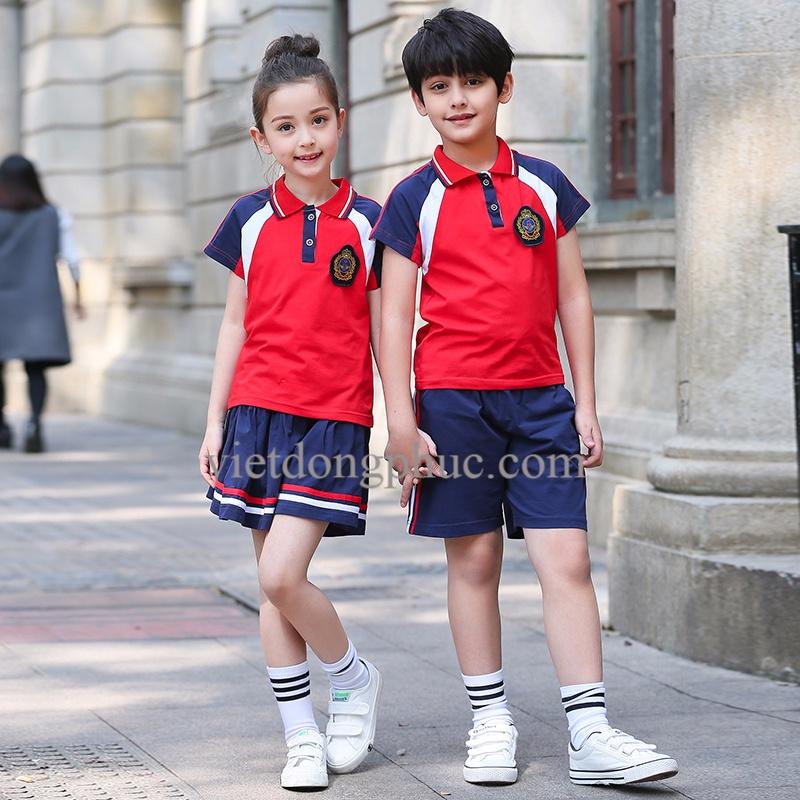 Mẫu đồng phục học sinh Tiểu học năng động, trẻ trung và siêu đáng yêu