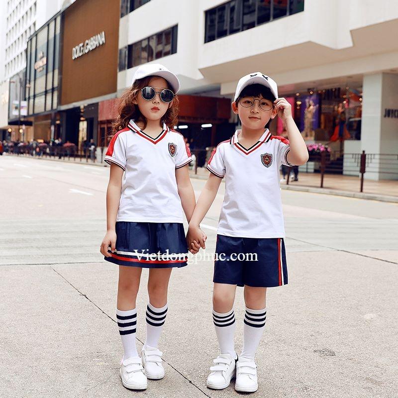 Mẫu quần áo học sinh tiểu học siêu chất, giá cực rẻ tại Hà Nội