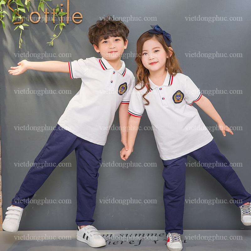 Đồng phục học sinh cấp 1 MS27