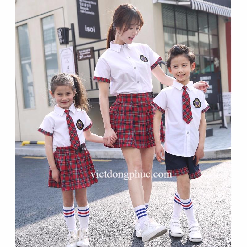 Đồng phục học sinh cấp 1 MS28