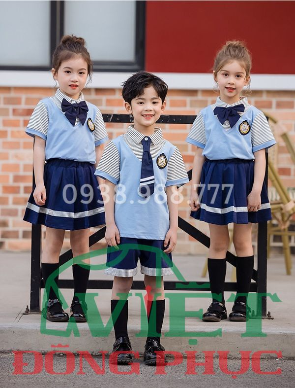 Đồng phục học sinh cấp 1 MS33