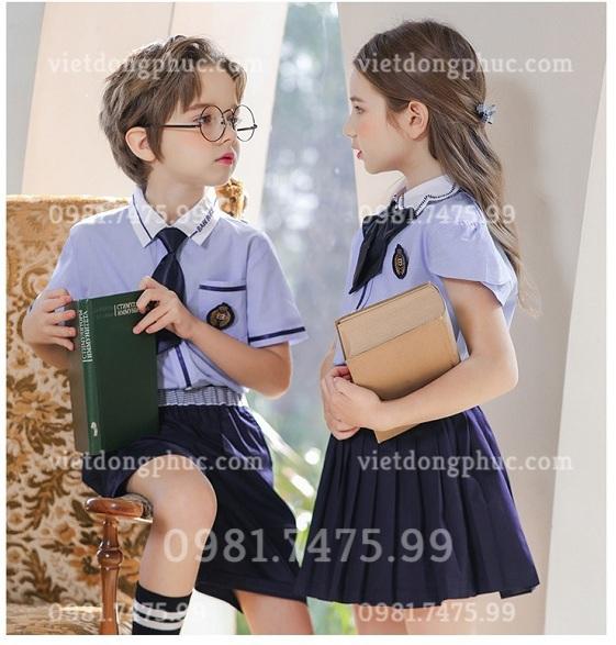 Đồng phục học sinh cấp 1 MS34