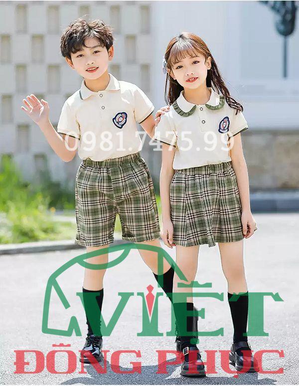 Đồng phục học sinh cấp 1 MS39