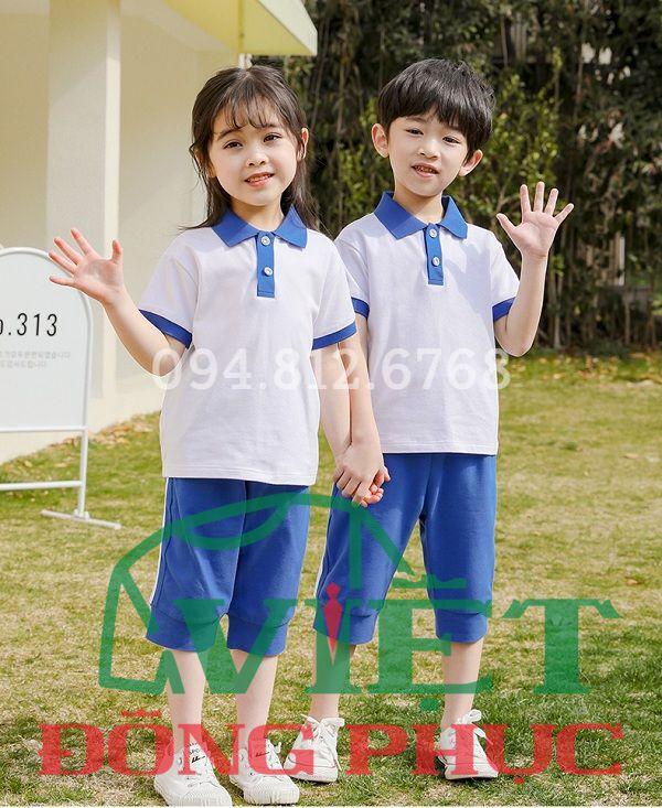 Đồng phục học sinh cấp 1 MS40