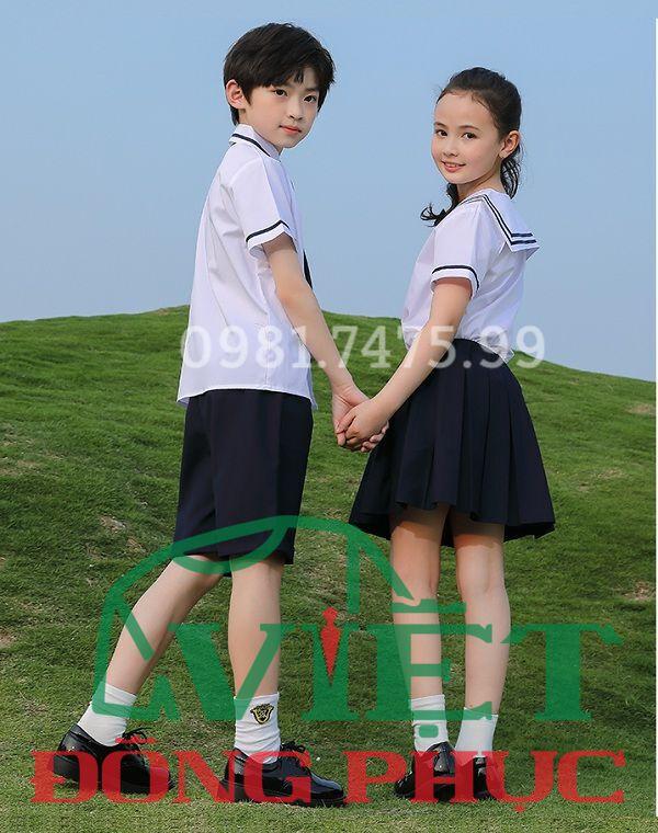 Đồng phục học sinh cấp 1 MS43