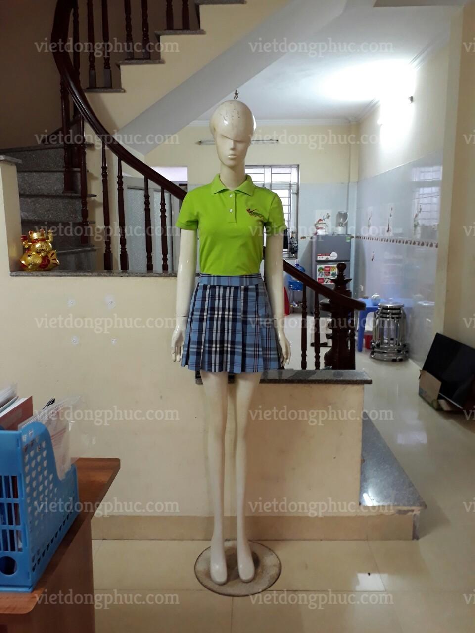 Đồng phục học sinh cấp 2 MS12