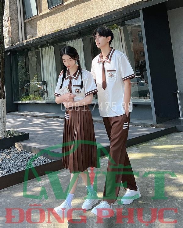 Đồng phục học sinh cấp 3 MS15