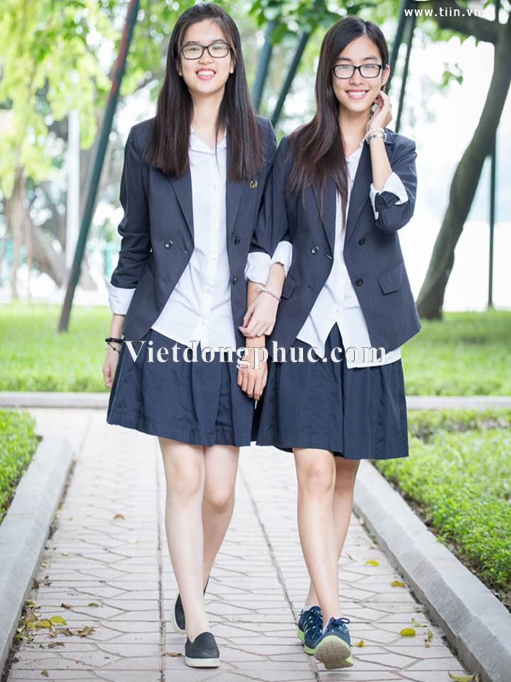 Đồng phục học sinh cấp 3 MS16