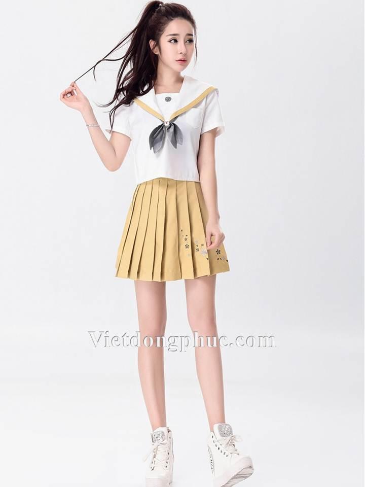 Đồng phục học sinh cấp 3 MS18