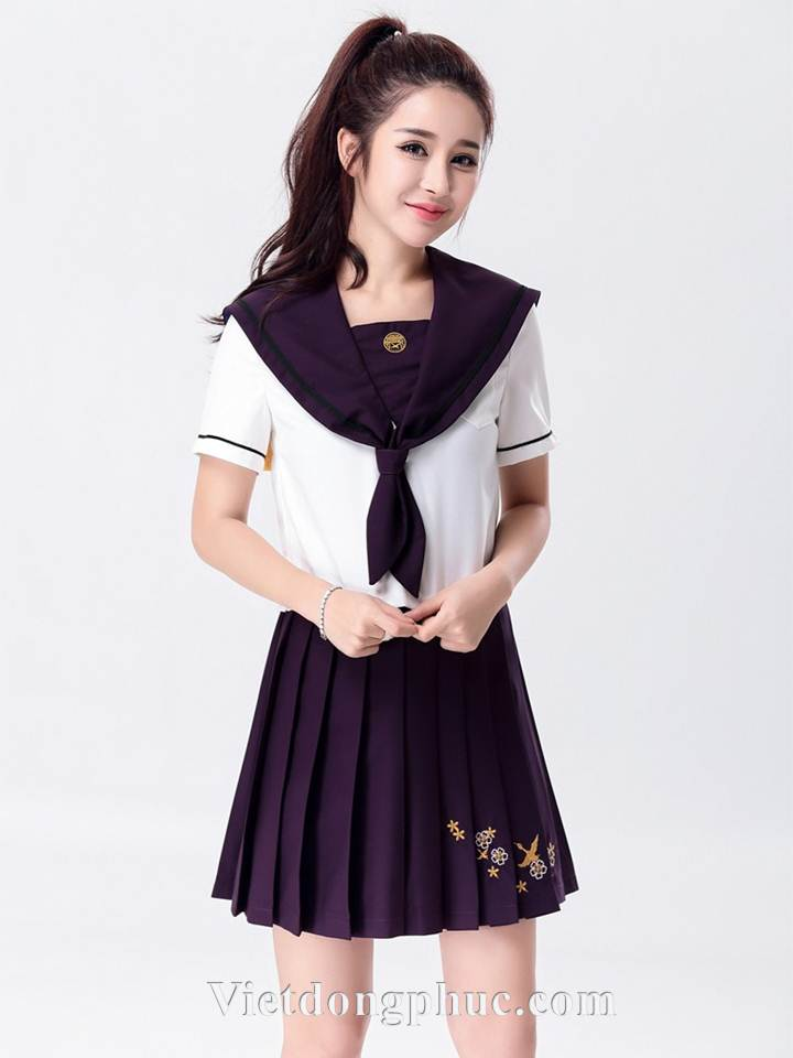 Đồng phục học sinh cấp 3 MS20