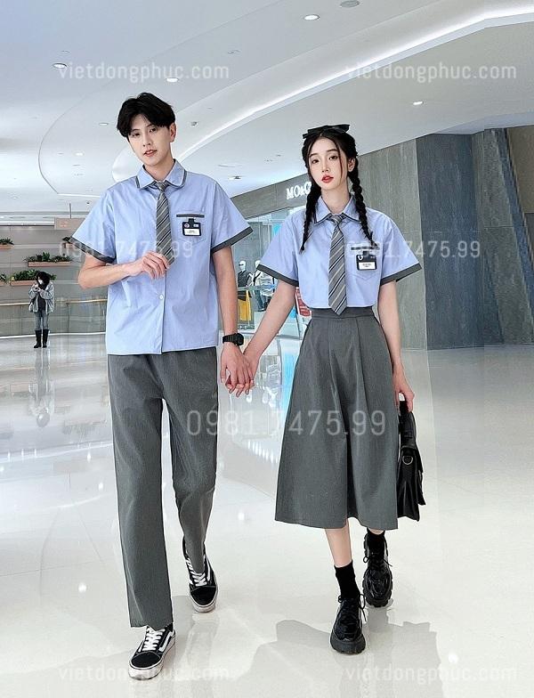 Đồng phục học sinh cấp 3 MS04
