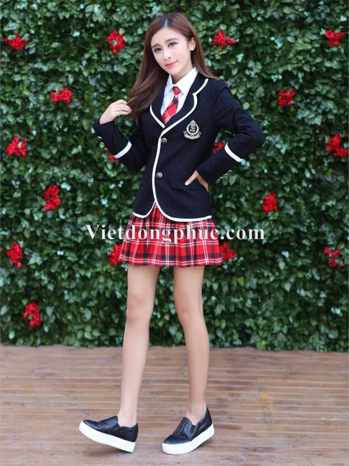 Đồng phục học sinh cấp 3 MS07