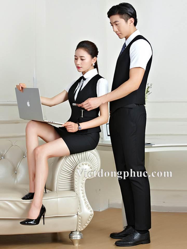 Đồng phục áo gile Nam 15