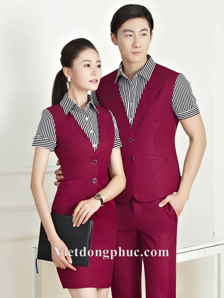 Đồng phục áo gile Nam 14