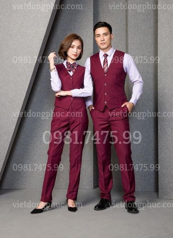 Đồng phục áo gile nam 19