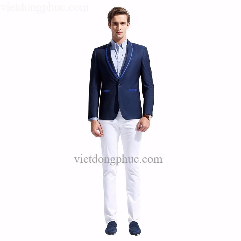 Đồng phục áo Vest Nam 02