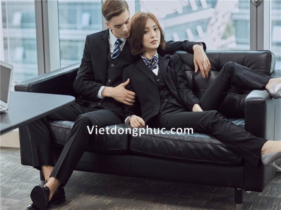 Đồng phục áo Vest Nam 03