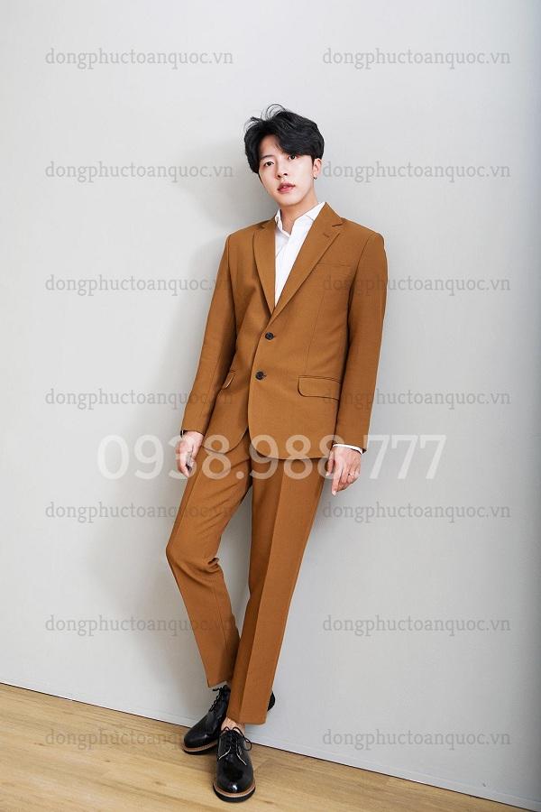 Đồng phục áo Vest Nam 09