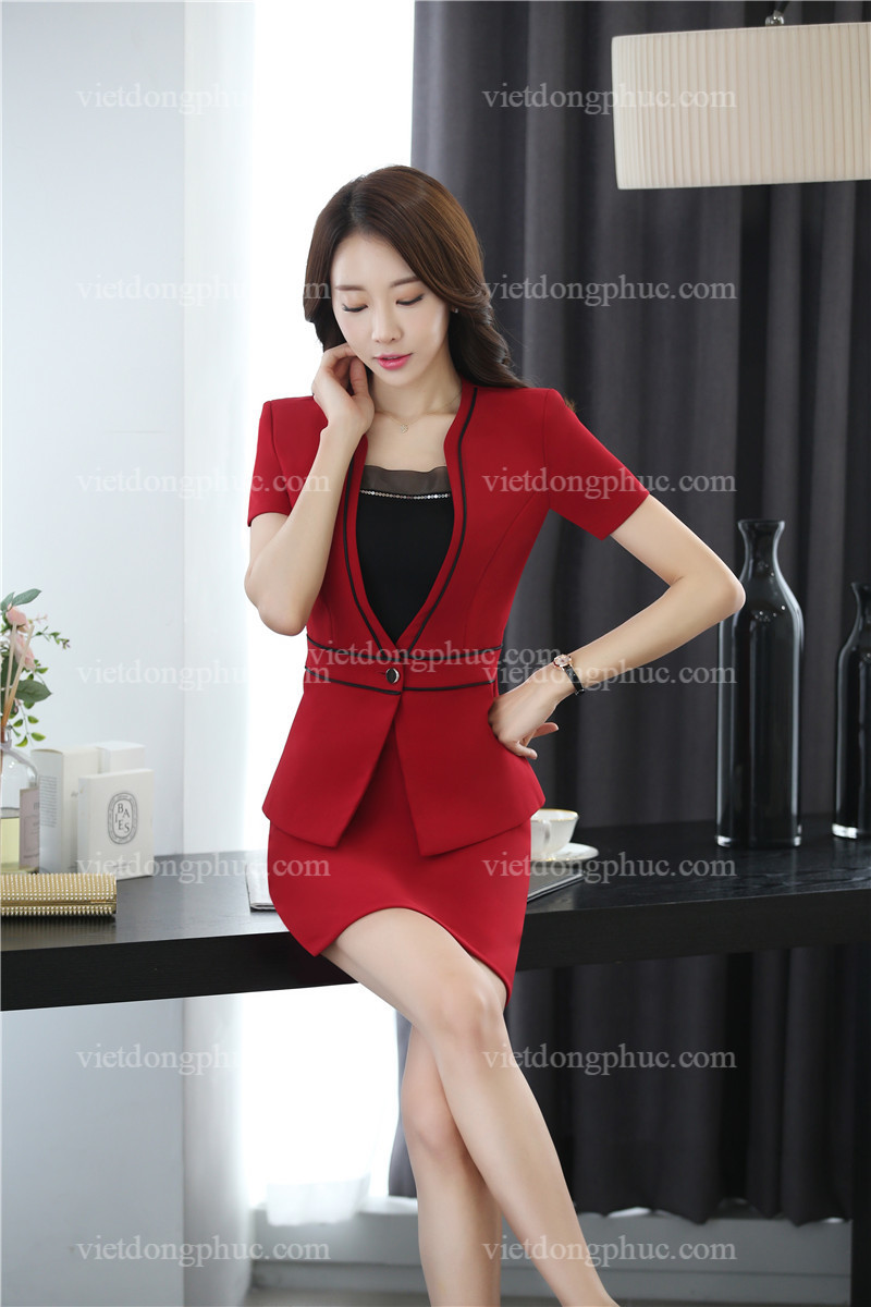 Đồng phục áo vest nữ 45