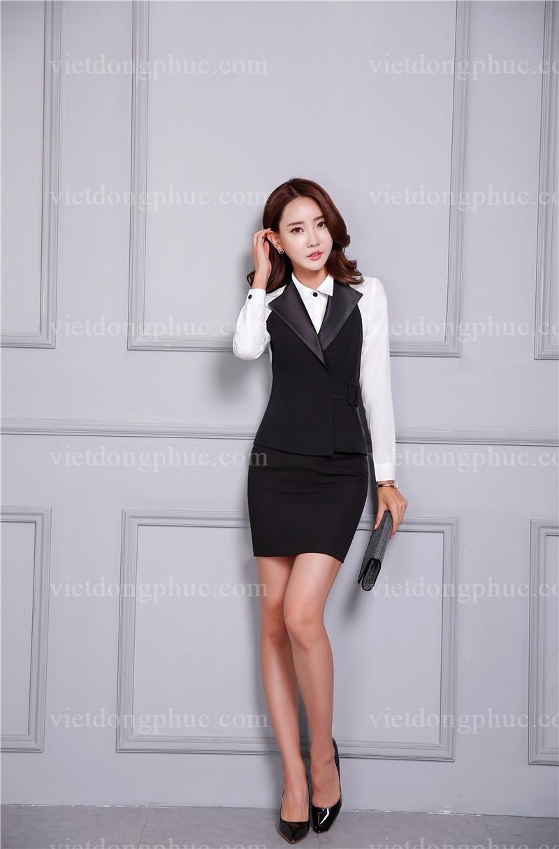 Đồng phục áo gile Nữ 01