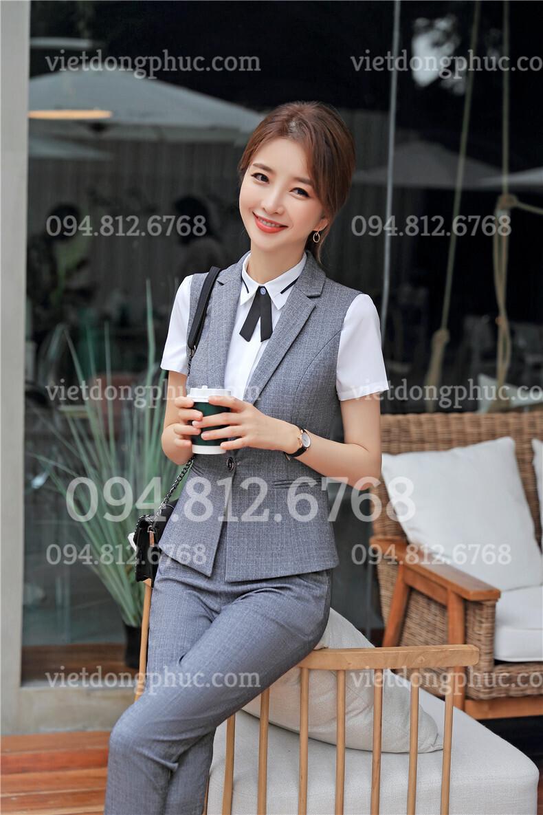 Đồng phục áo gile Nữ 10