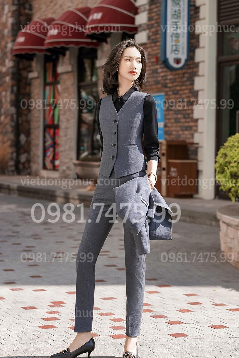 Đồng phục áo gile Nữ 15