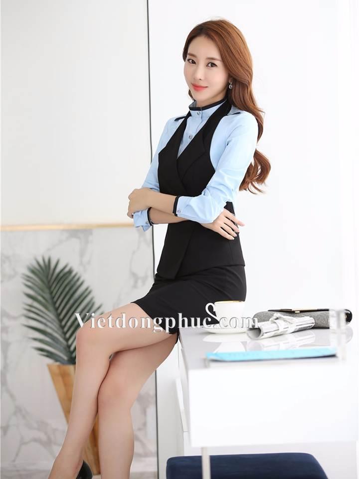 Đồng phục áo gile Nữ 17