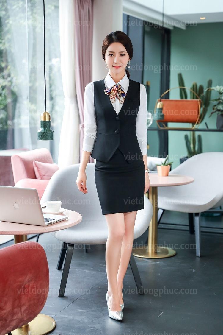 Đồng phục áo gile Nữ 18