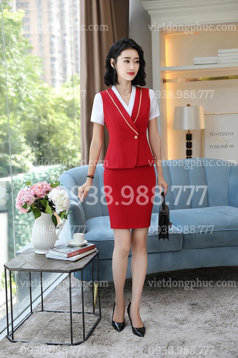Đồng phục áo gile Nữ 20