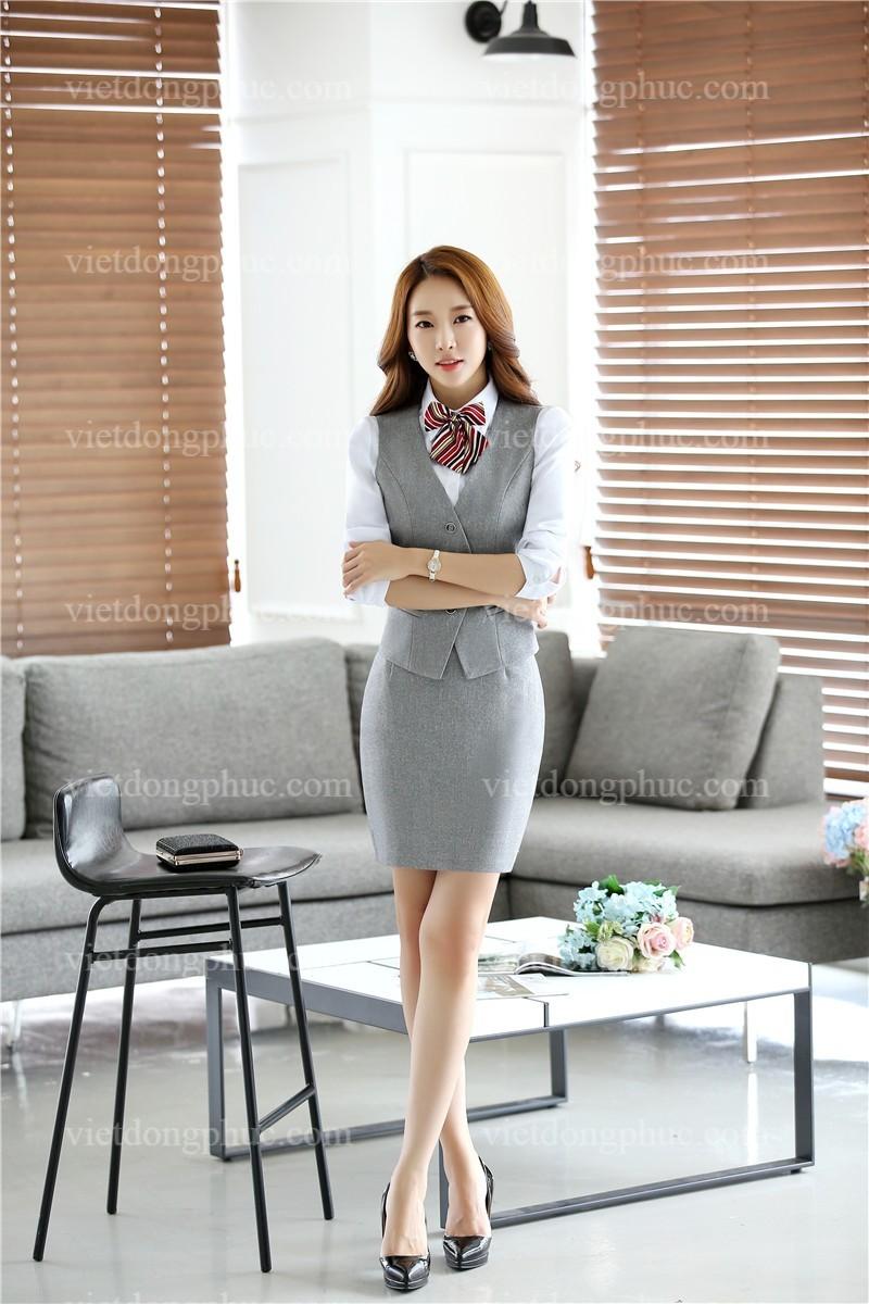 Đồng phục áo gile Nữ 23