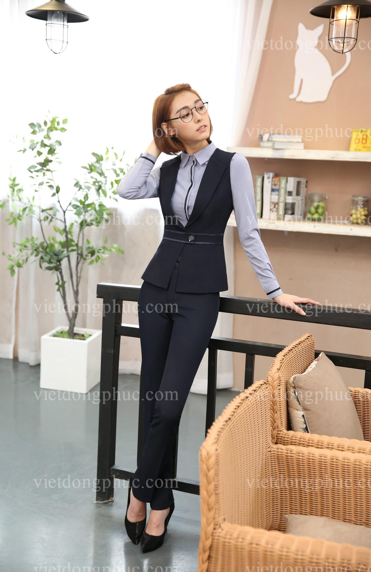 Đồng phục áo gile Nữ 24